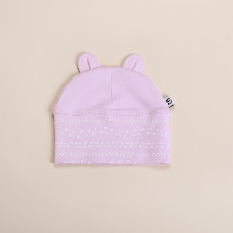 Bibalicious Beanie - Pink Footprints on the Land