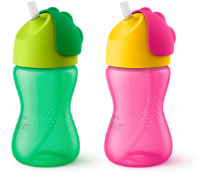Avent Dinosaur Straw Bottle 300mL