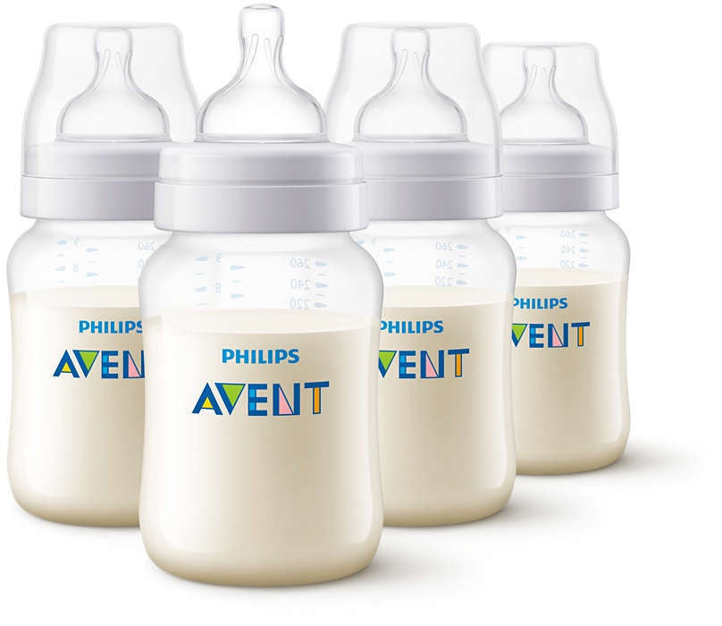 Avent PP Bottle 260ml 4pk