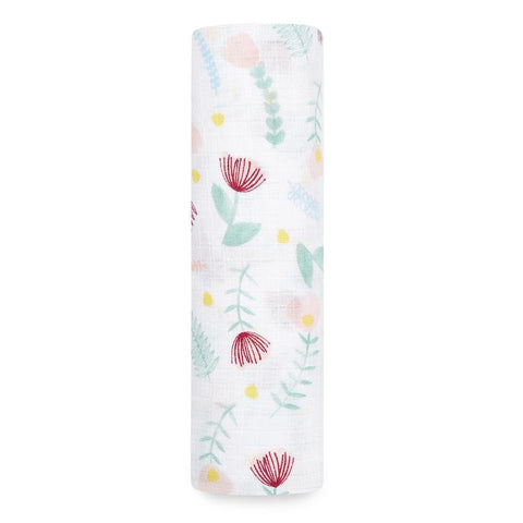 Aden + Anais Essentials Swaddle - Floral Fauna
