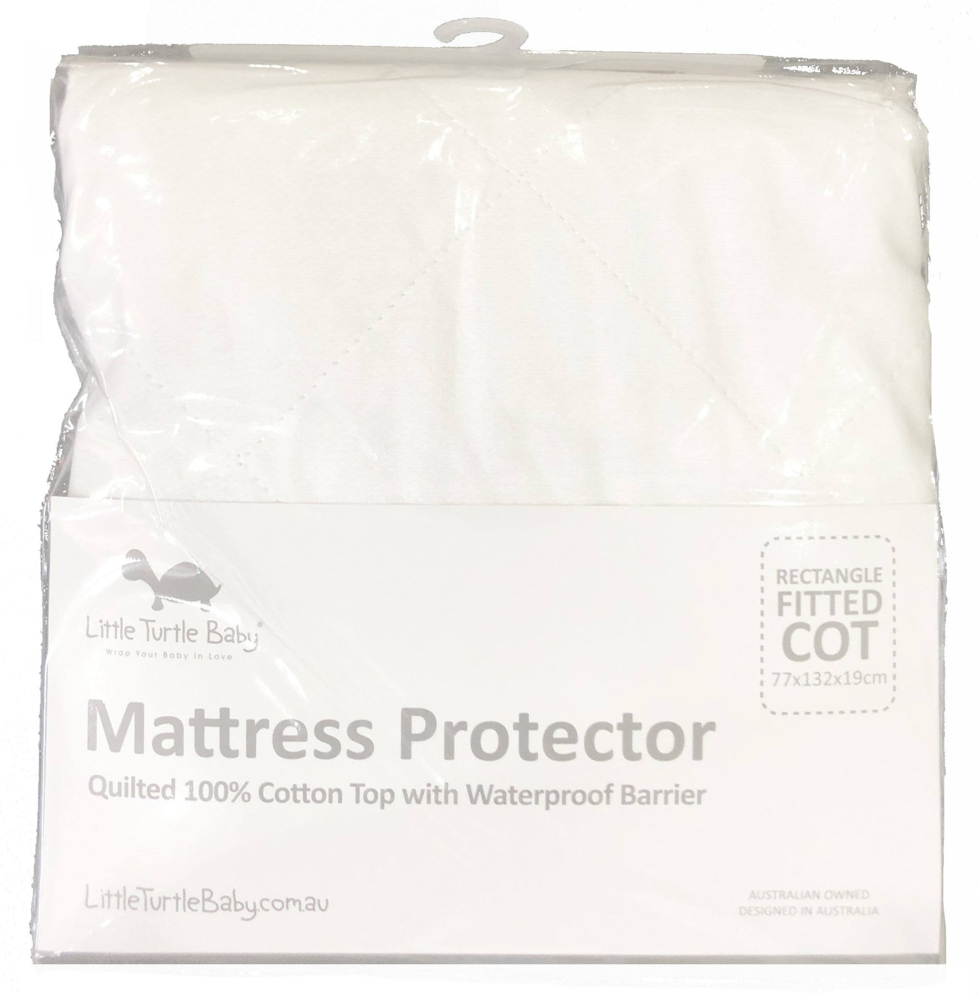 Little Turtle Baby Standard Cot Mattress Protector