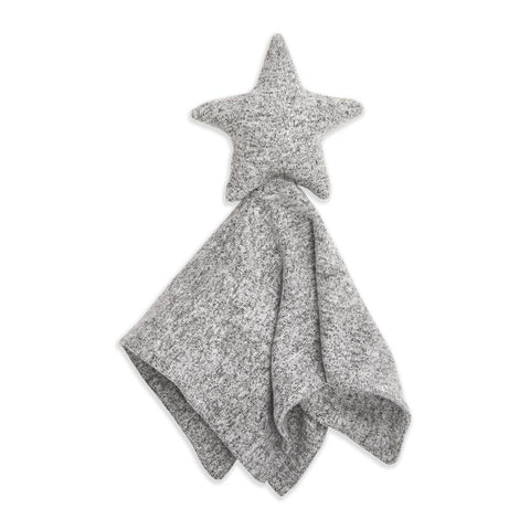 Aden + Anais Snuggle Knit Lovey - Heather Grey