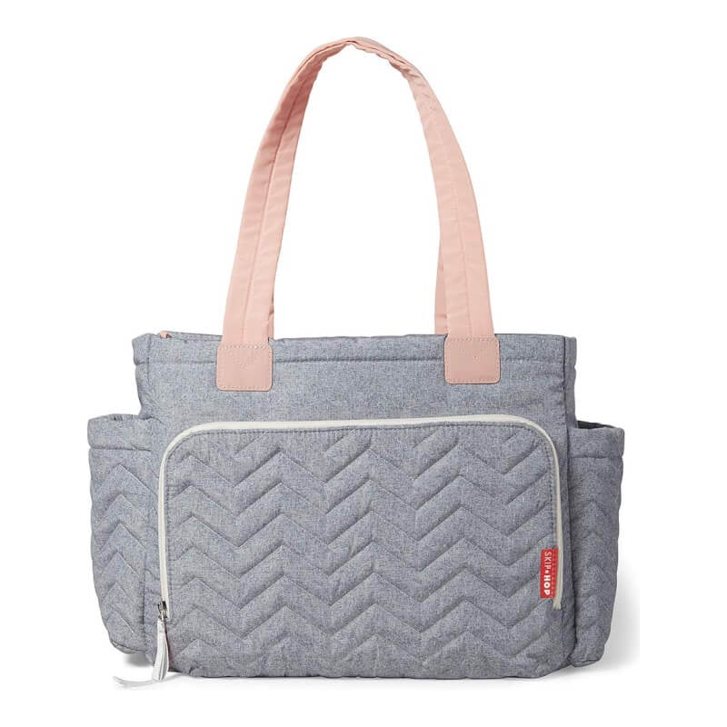Skip Hop Five Star Mommy Tote - Dove Grey