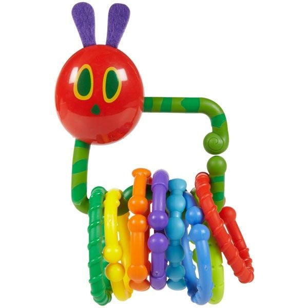 The Very Hungry Caterpillar Rattle Teether with Links