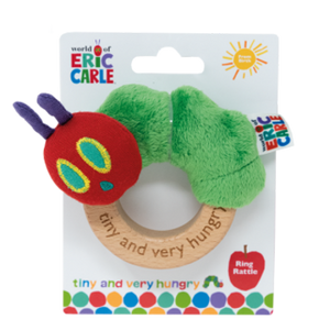 The Very Hungry Caterpillar Tiny Ring Rattle