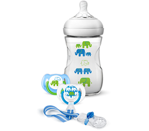 Avent Natural Elephant Gift Set