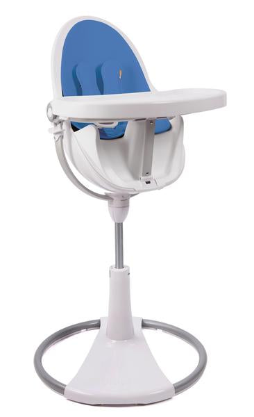 Bloom Fresco Highchair - White Frame