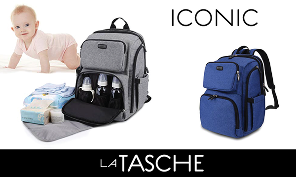 La Tasche Iconic Nappy Backpack