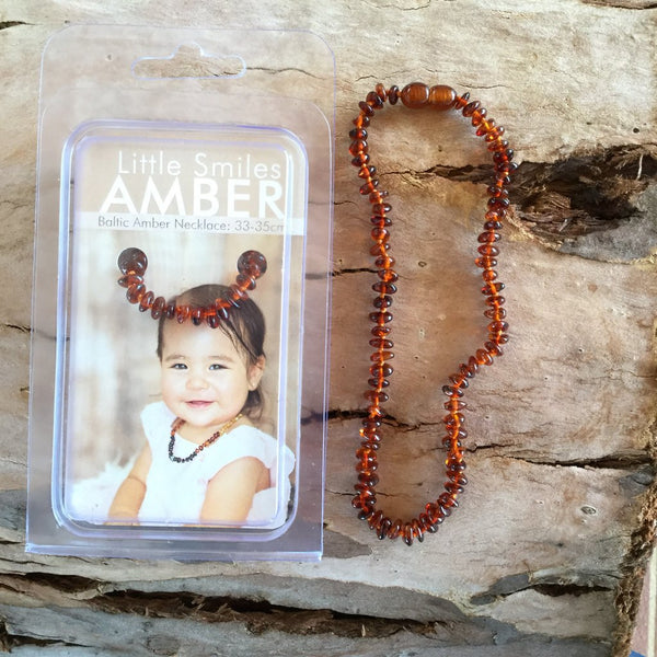 Little Smiles Baltic Amber Necklace
