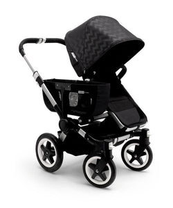 Bugaboo Donkey Tailored Fabric Set - Shiny Chevron Black Intense