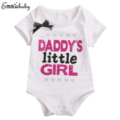 Daddy's Little Girl Romper / Mommy's little princess