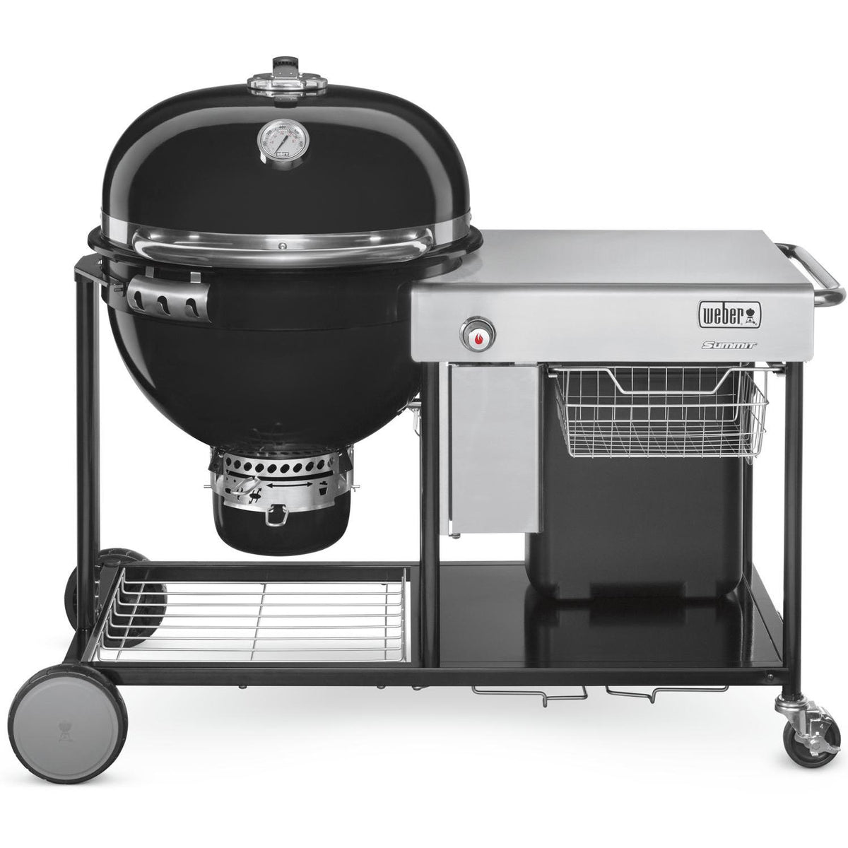 Weber Summit Charcoal Grilling Center Luxury Grill