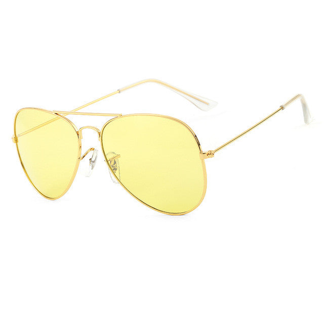 ROYAL GIRL Brand Designer Women Sunglasses Pilot Sun glasses Sea gradient shades Men Fashion glasses ss065