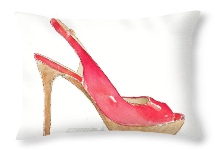 Pool Party Stiletto Throw Pillow