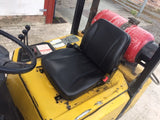 Black PVC Fork Lift Dumper Suspension Seat RPSEAT06 - Roy Perfect LTD