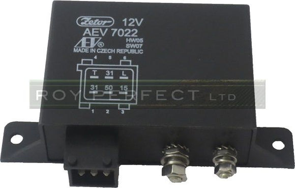 Zetor Control Box/ Relay for Glow Plugs - Roy Perfect LTD