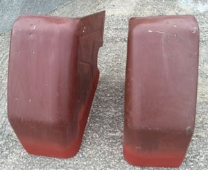 Zetor & Vintage Tractor Rear Mudguards LH & RH - Roy Perfect LTD