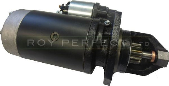 Zetor and Valtra Tractor Starter Motor - Roy Perfect LTD