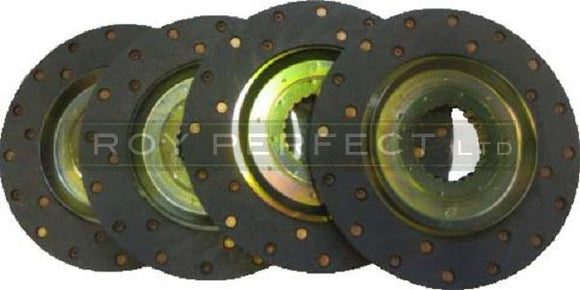 Set of four Zetor & Ursus Tractor Brake Discs - Roy Perfect LTD