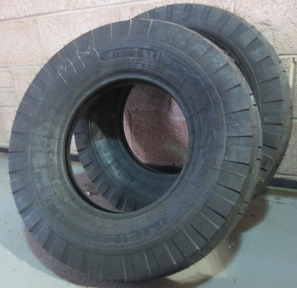Pair of Cultor Tractor Front Tyres 7.50-16 8PR - Roy Perfect LTD