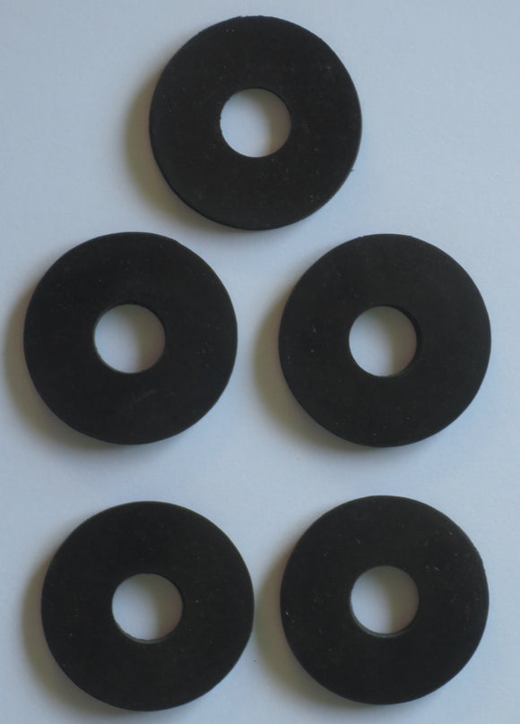 Washer Rubber  x 5 - Roy Perfect LTD