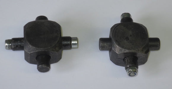 Pair of Zetor Crystal Steering Shaft Joint Assembly - Roy Perfect LTD