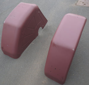 Pair of Rear Mud Guards - Roy Perfect LTD