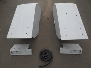 Set of Rear Guards & Light Holders - Roy Perfect LTD
