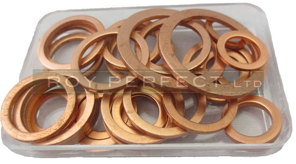 Fuel Pump Copper Washer Kit - Roy Perfect LTD