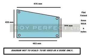 Ursus Bottom Door Glass - Roy Perfect LTD