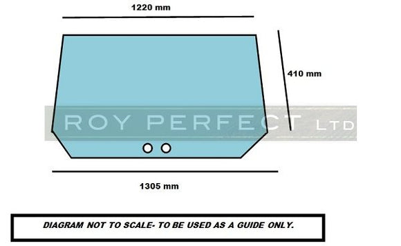 Ford Lower Rear Glass Super Q Cab - Roy Perfect LTD