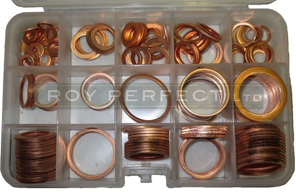 Copper Washer Pack 3 - Roy Perfect LTD