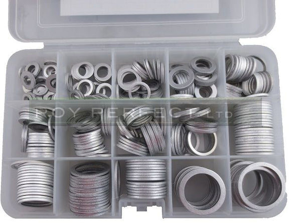 Aluminium Washer Pack - Roy Perfect LTD
