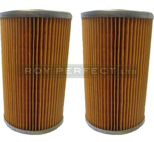 Zetor & John Deere Single Stage Fuel Filter x 2 - Roy Perfect LTD