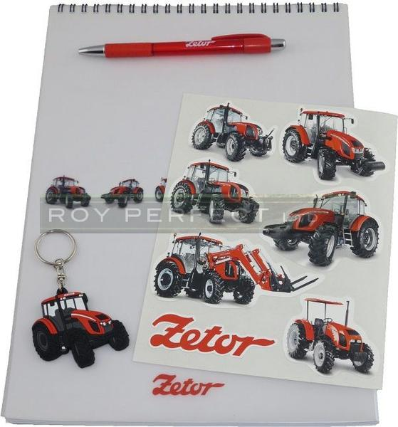 Zetor Notepad Gift Set - Roy Perfect LTD