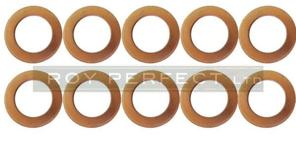 Copper Washer Set of 10 (16 x 24 x 1.5) - Roy Perfect LTD