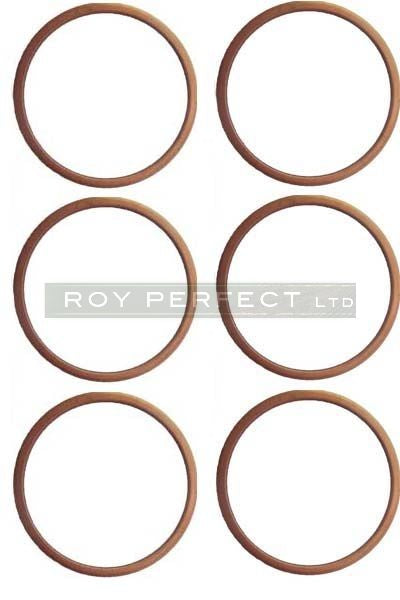 Copper Washer Set of 6 (24x28x1.5) - Roy Perfect LTD