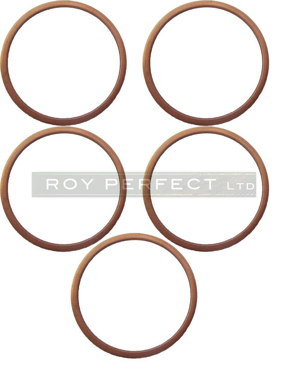 Copper Washer Set x 5 (38x42x2) - Roy Perfect LTD