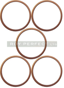 Copper Washer Set x 5 (40x44x1.5) - Roy Perfect LTD