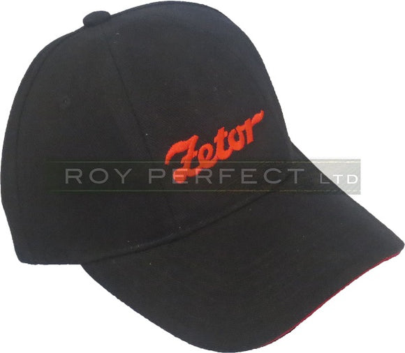 Zetor Tractor Black Baseball Cap - Roy Perfect LTD