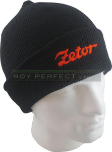 Zetor Tractor Black Knitted Hat - Roy Perfect LTD