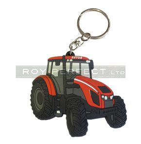 Zetor Tractor Key Ring - Roy Perfect LTD
