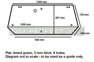 Ford New Holland Cab Glass - Roy Perfect LTD