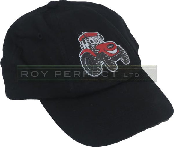 Zetor Tractor Children's Cartoon Black Baseball Cap - Roy Perfect LTD