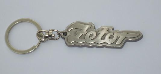 Zetor Tractor Metal Key Ring - Roy Perfect LTD