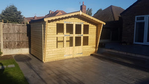 11x7 19mm tanalised summerhouse