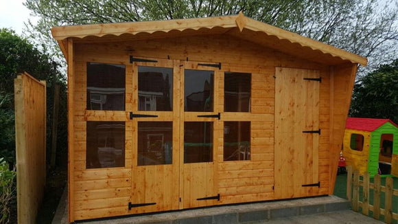 12x8 summerhouse/ shed combi building