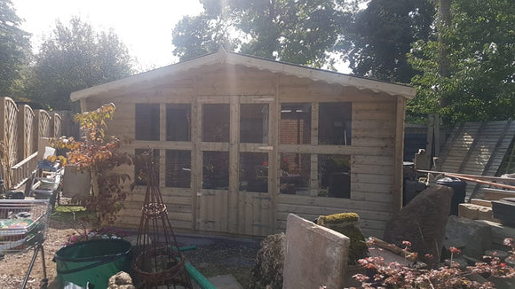 14x8 tanalised summerhouse