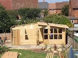 20x10 19mm tanalised summerhouse- shed combi building