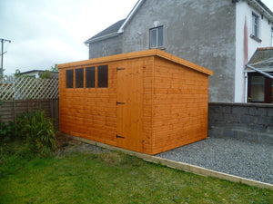 12x8 Pent Shed